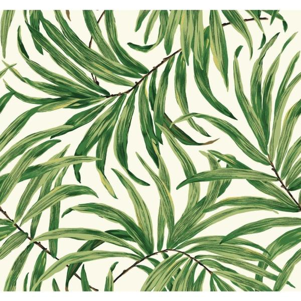 York Wallcoverings Tropics Bali Leaves Wallpaper