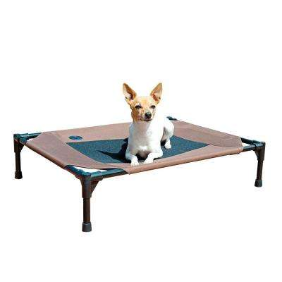 Medium Chocolate Pet Cot