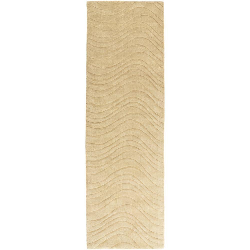 Edina Gold 2 ft. 6 in. x 8 ft. Indoor Rug