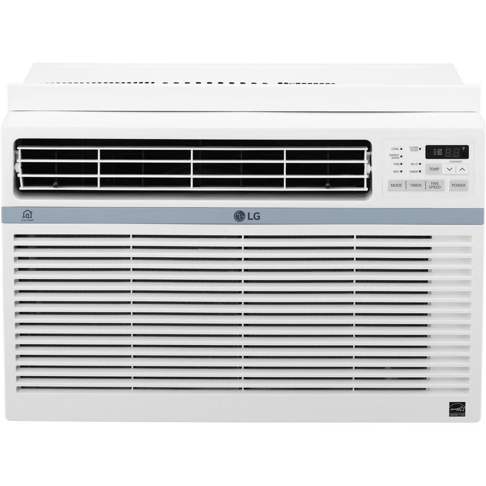 https: 10,000 BTU Window Smart (Wi-Fi) Air Conditioner with Remote, ENERGY STAR in White