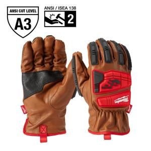 Small Level 3 Cut Resistant Goatskin Leather Impact Gloves