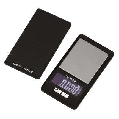 Digital Compact Electronic Scale in Black