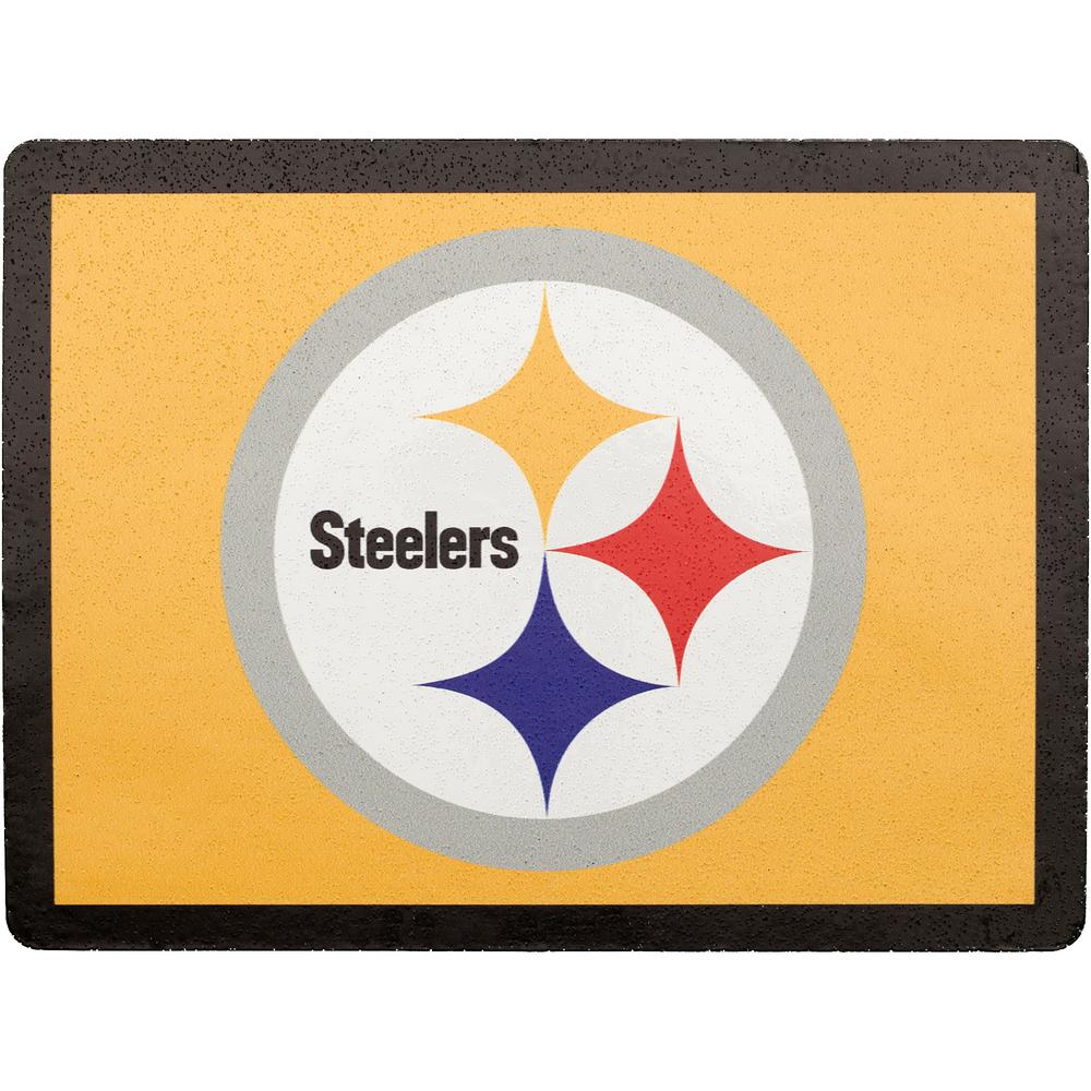 Applied Icon Nfl Pittsburgh Steelers Address Logo Graphic Nfal2601 The Home Depot