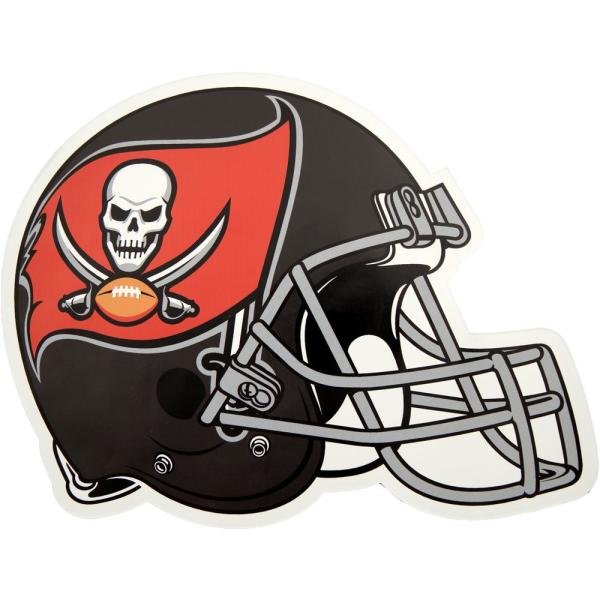 1a5f49156 Applied Icon NFL Tampa Bay Buccaneers Outdoor Helmet Graphic- Large ...