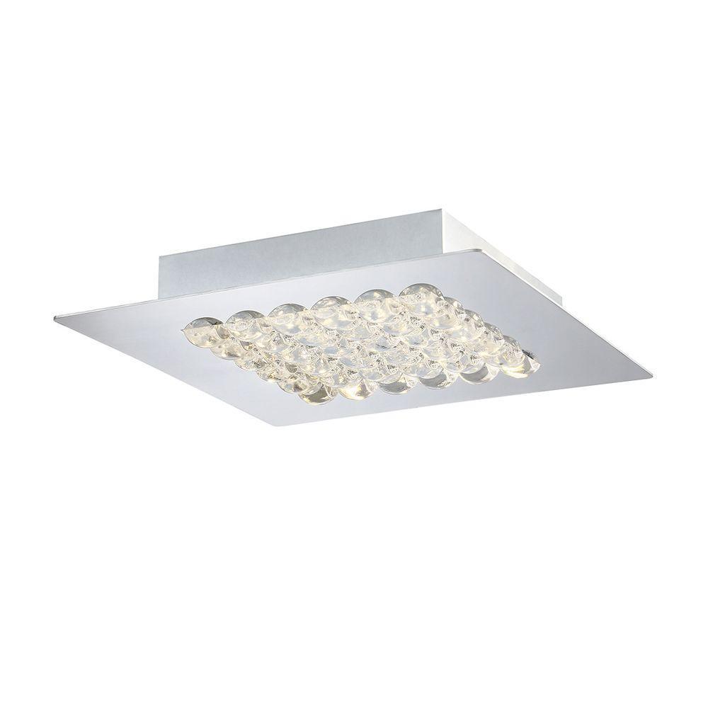 Denso Collection 1-Light Chrome LED Medium Surface Mount