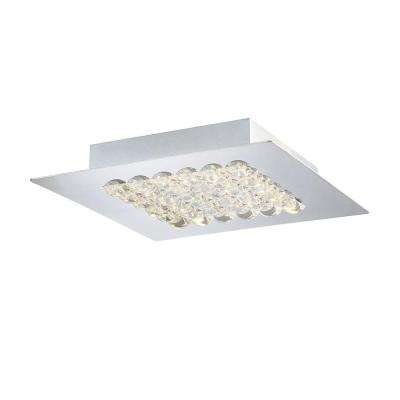 Denso Collection 1-Light Chrome LED Medium Surface Mount