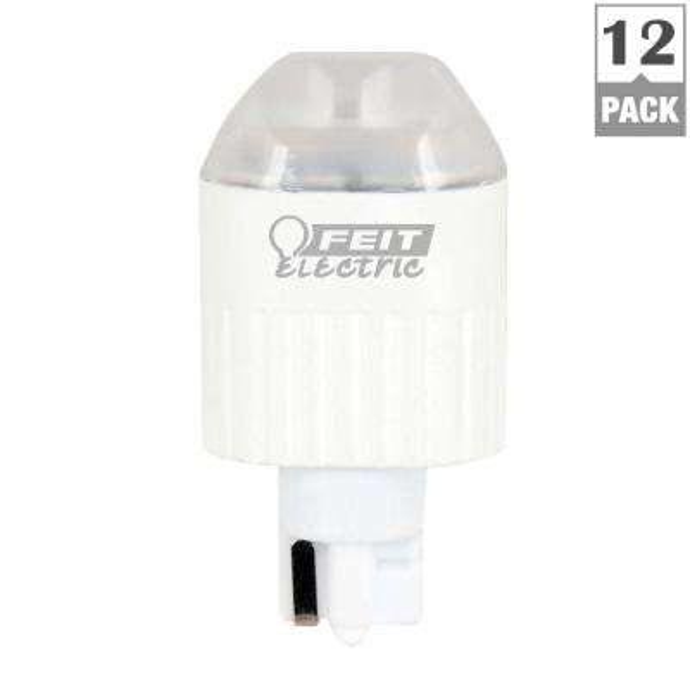 20W Equivalent Warm White (3000K) Wedge LED 12-Volt Landscape Garden Light Bulb (Case of 12)