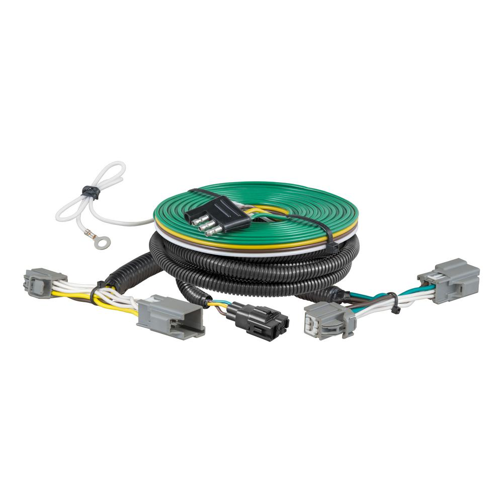 [ZSVE_7041]  CURT Custom Towed-Vehicle RV Wiring Harness, Select Ford Fiesta-58972 - The  Home Depot | Ford Wiring Harness Parts |  | The Home Depot