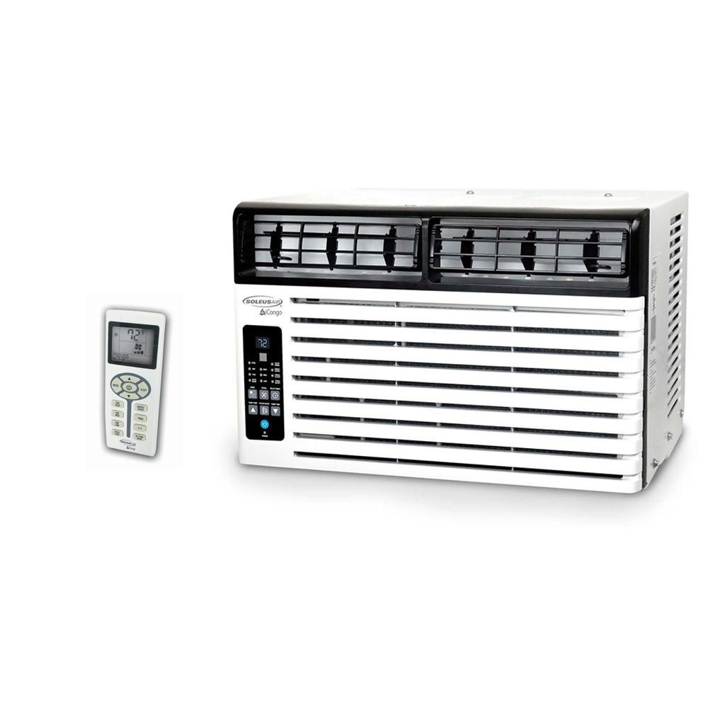 soleus air 10,200 btu 115 volt window air conditioner with lcd remote control, energy star