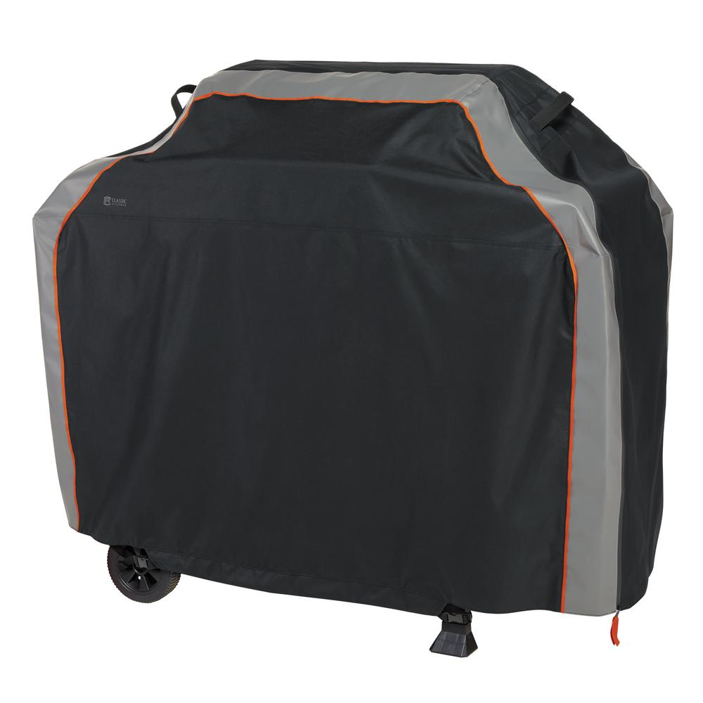 Classic Accessories SideSlider 64 in. L x 30 in. W x 48 in. H BBQ Grill Cover