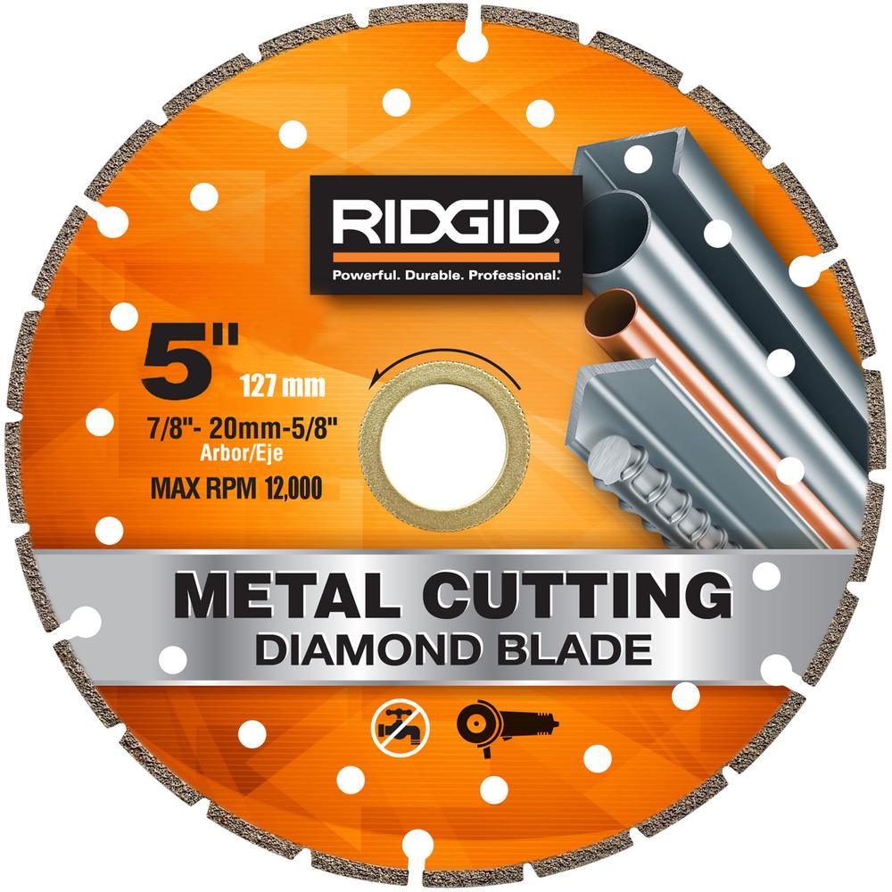 5 in. Metal Cutting Diamond Blade