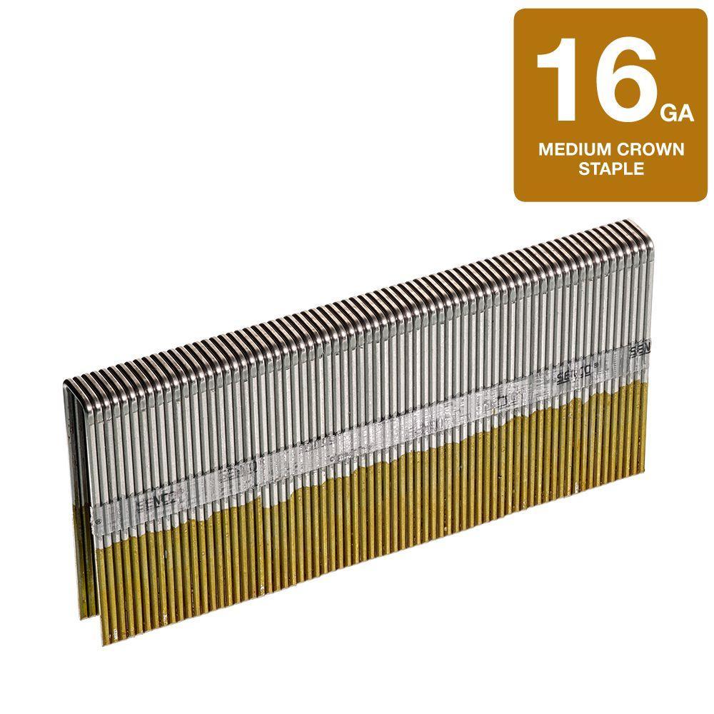 N21BRB Staples 7//16 Medium Crown Senco Brands Inc 16 Gauge,