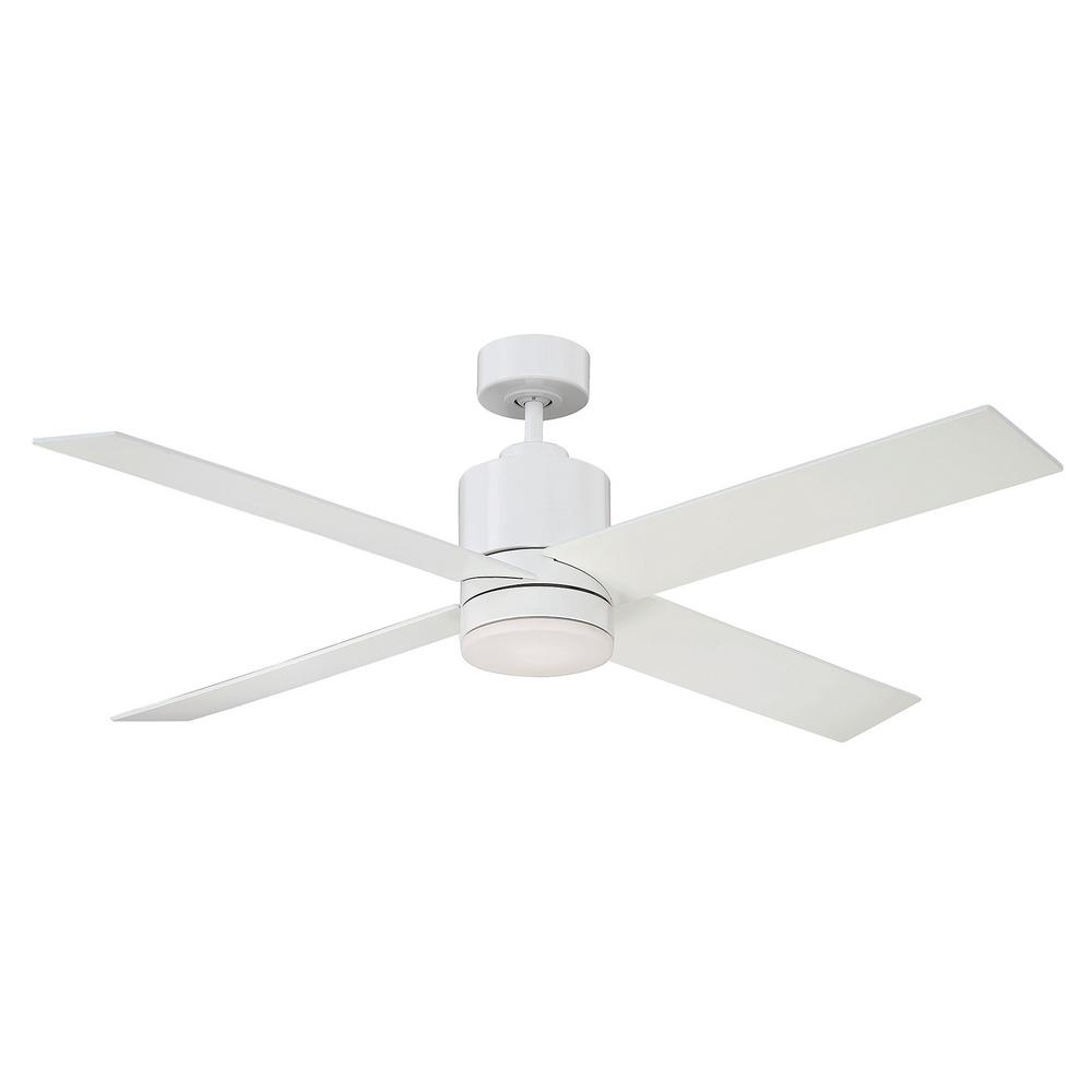 Filament design 52 in white ceiling fan ect sh261060 the home depot white ceiling fan mozeypictures Image collections