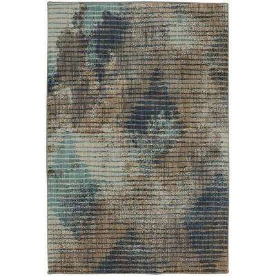 Wireframe Lagoon 5 ft. x 8 ft. Area Rug