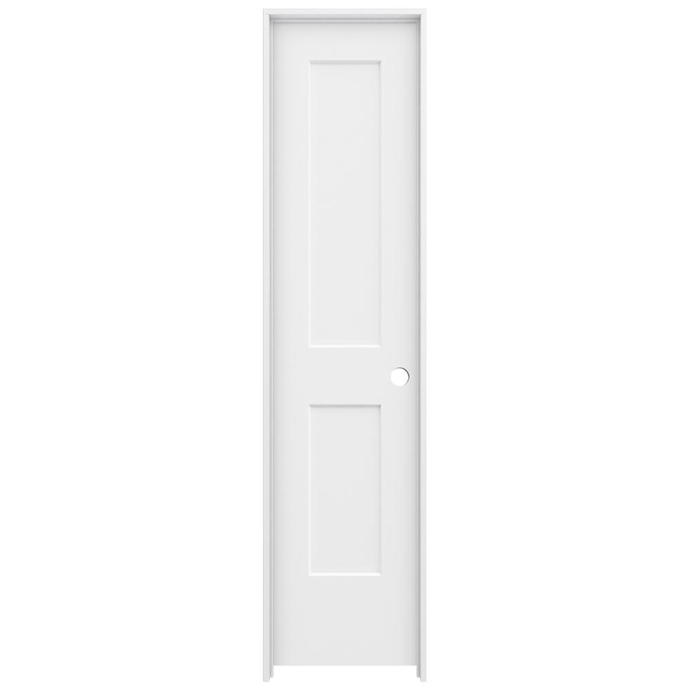 20 Best Images About Closet Doors On Pinterest: JELD-WEN 20 In. X 80 In. Monroe Primed Left-Hand Smooth