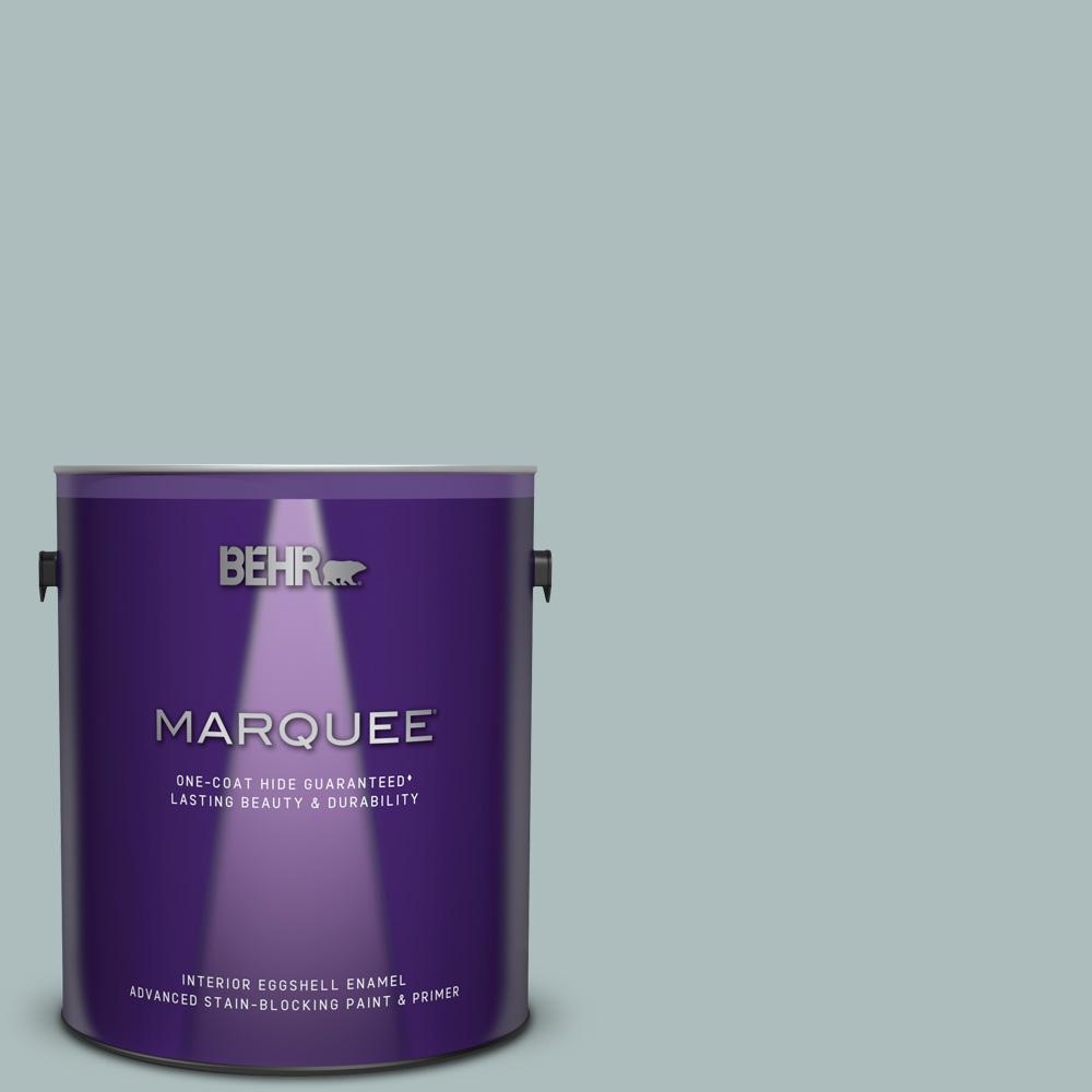 BEHR MARQUEE 1 gal. Home Decorators Collection #HDC-CT-26 Watery One-Coat Hide Eggshell Enamel Interior Paint & Primer