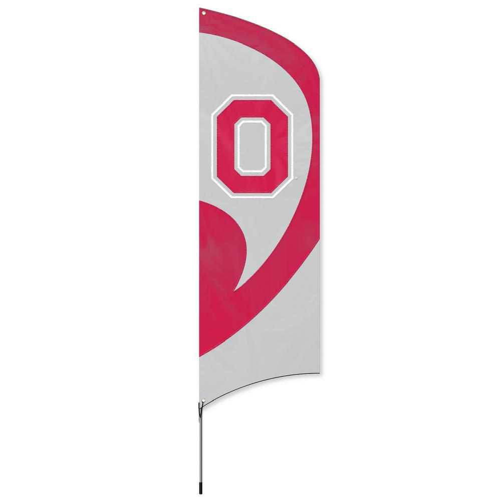 Ohio State Buckeyes Tall Team Flag