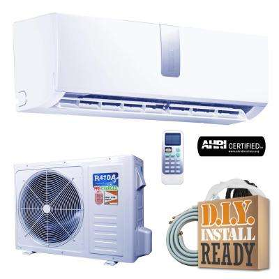 Super Efficiency GWi Series 18,000 BTU 1.5 Ton Inverter Ductless Mini Split Air Conditioner and Heat Pump - 230V/60Hz