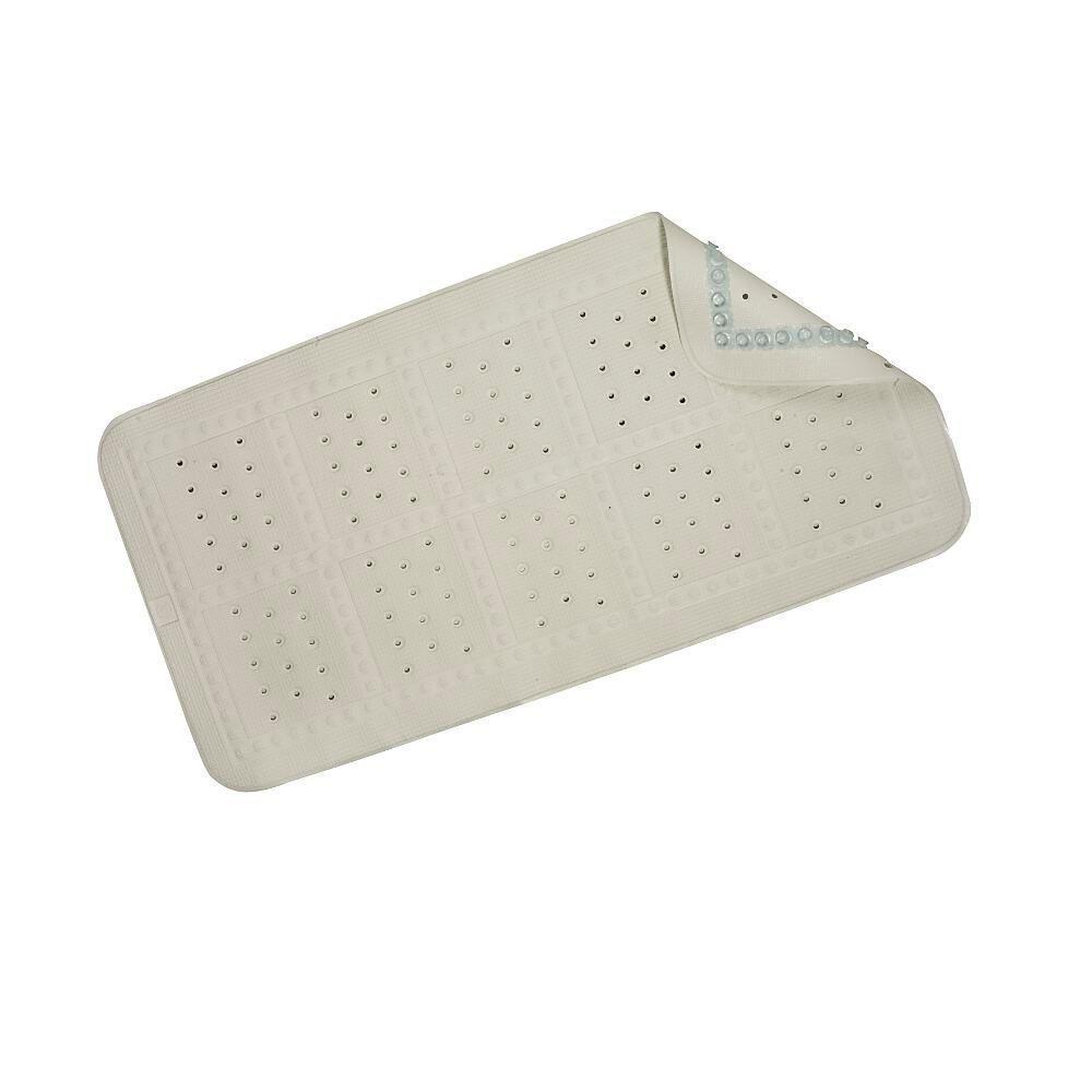 Medium Cushioned Bath Mat in White