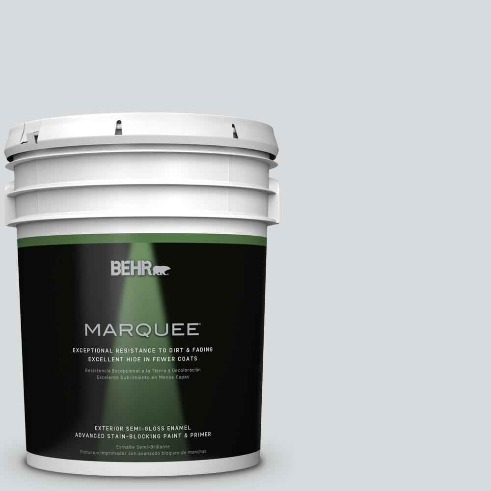5-gal. #ECC-33-2 Silver Sands Semi-Gloss Enamel Exterior Paint