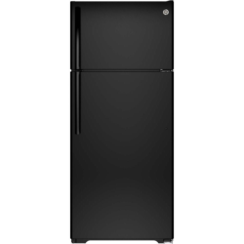 17.5 cu. ft. Top Freezer Refrigerator in Black
