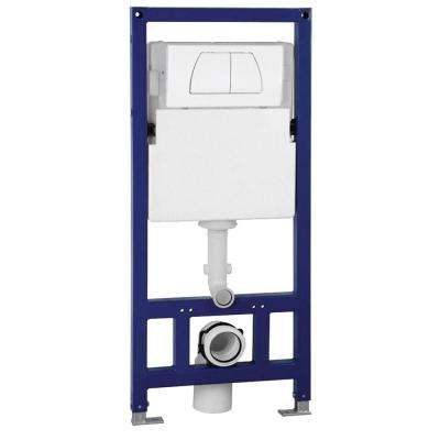 Wall Mount 0.8/1.6 GPF Dual Flush Toilet Tank