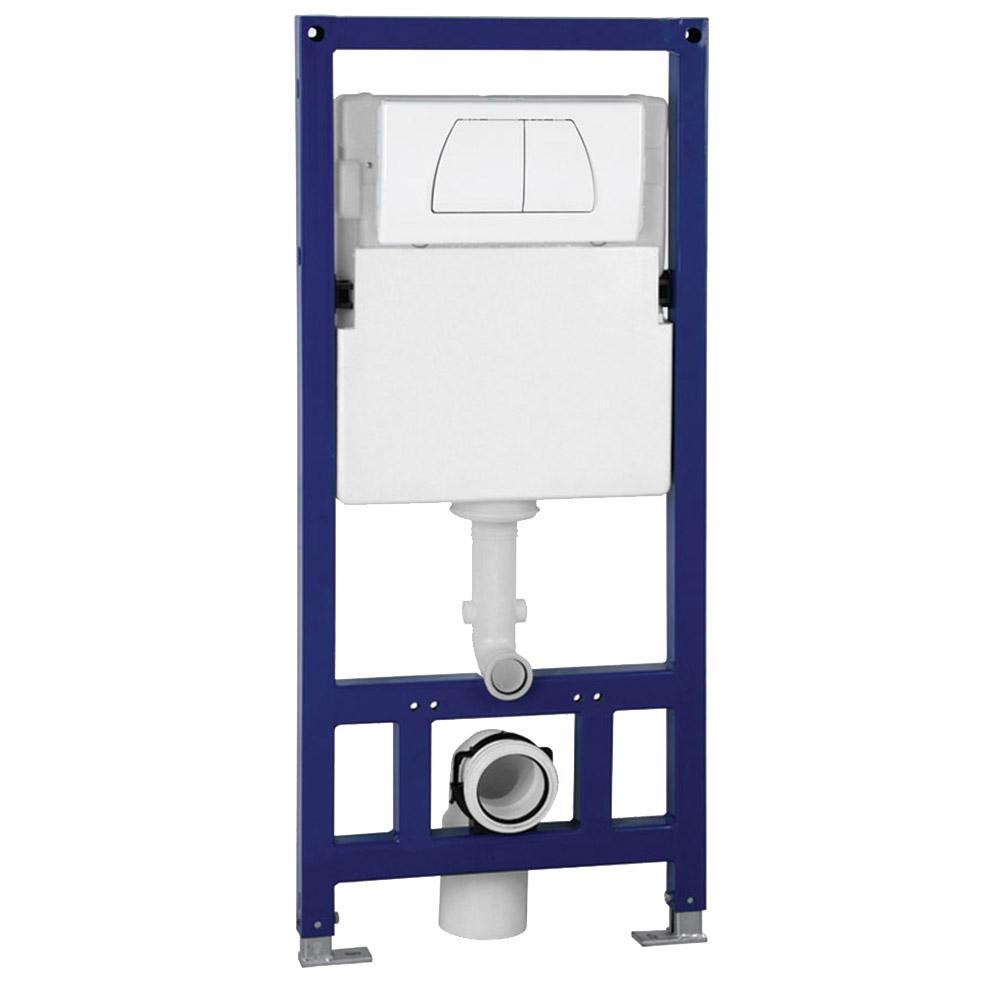 Eago Wall Mount 0 8 1 6 Gpf Dual Flush Toilet Tank Psf332