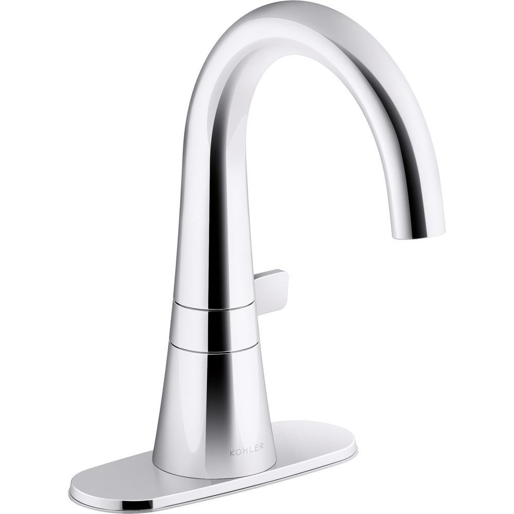 Tocar Single Hole Single-Handle Bathroom Faucet in Polished Chrome