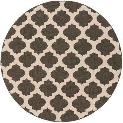 Round - Black - Outdoor Rugs - Rugs - The Home Depot