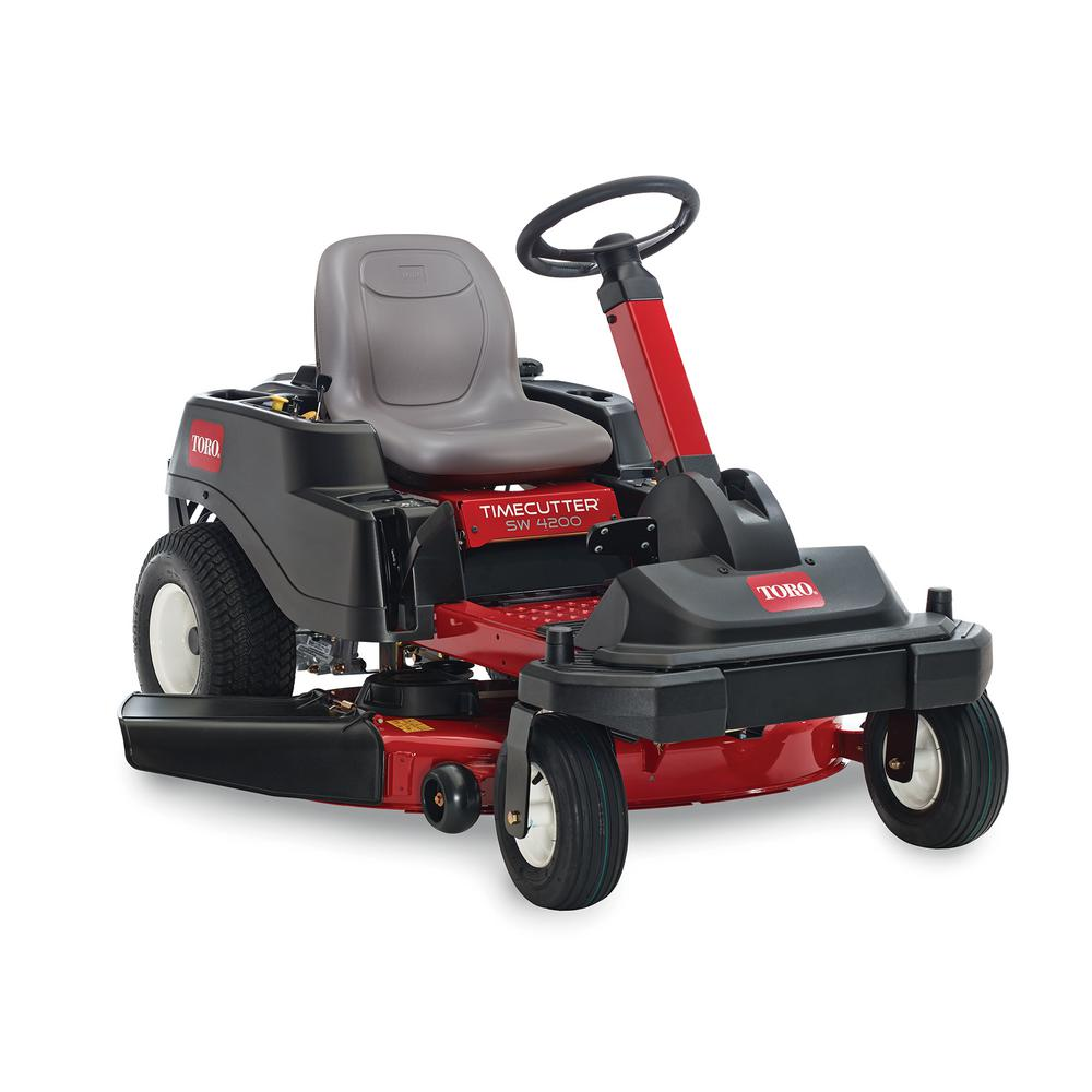 Toro TimeCutter SW4200 42 in. 22 HP V-Twin Zero-Turn Riding Mower with Smart Park - CARB