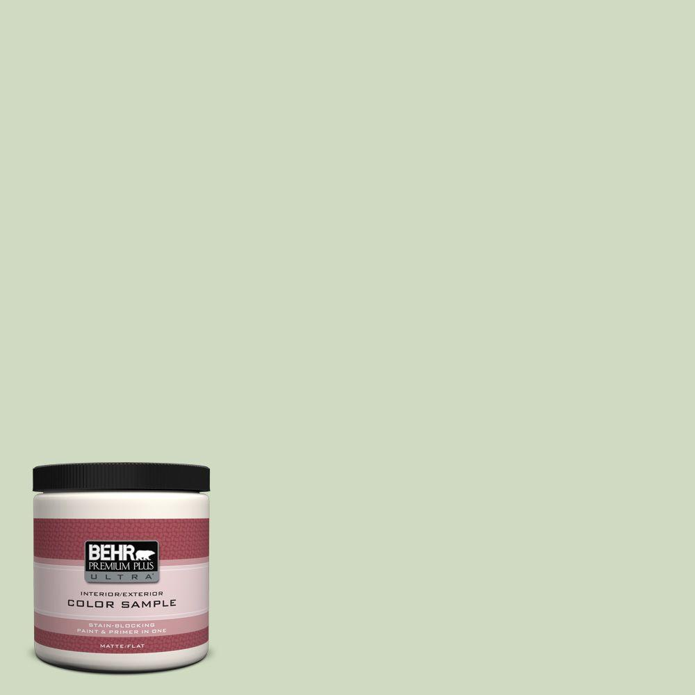 8 oz. #M380-2 Glade Green Interior/Exterior Paint Sample