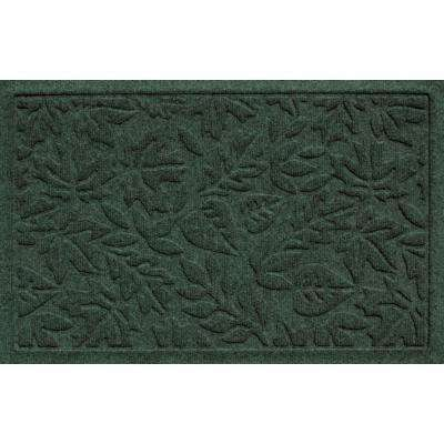Aqua Shield Fall Day Evergreen 17.5 In. X 26.5 In. Door Mat