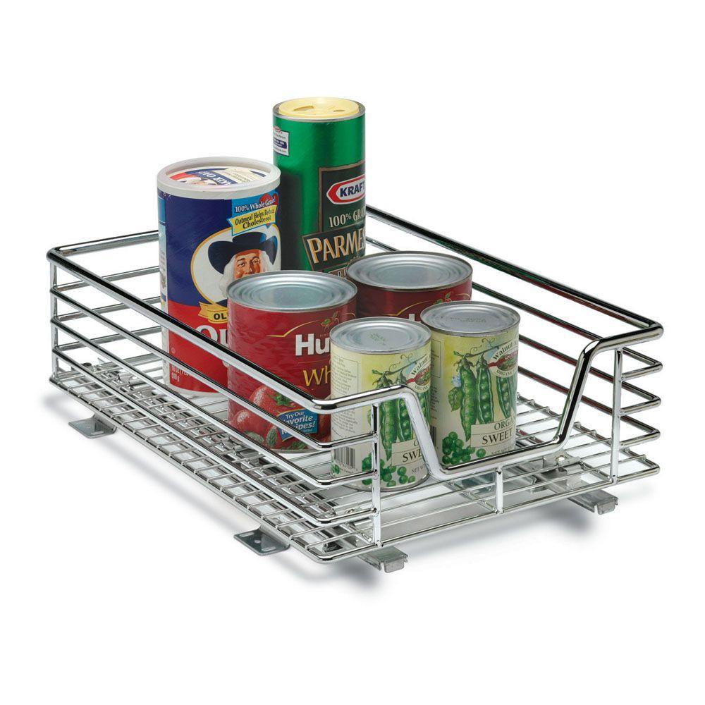 Household Essentials 11.5 in.Sliding Organizer-Chrome