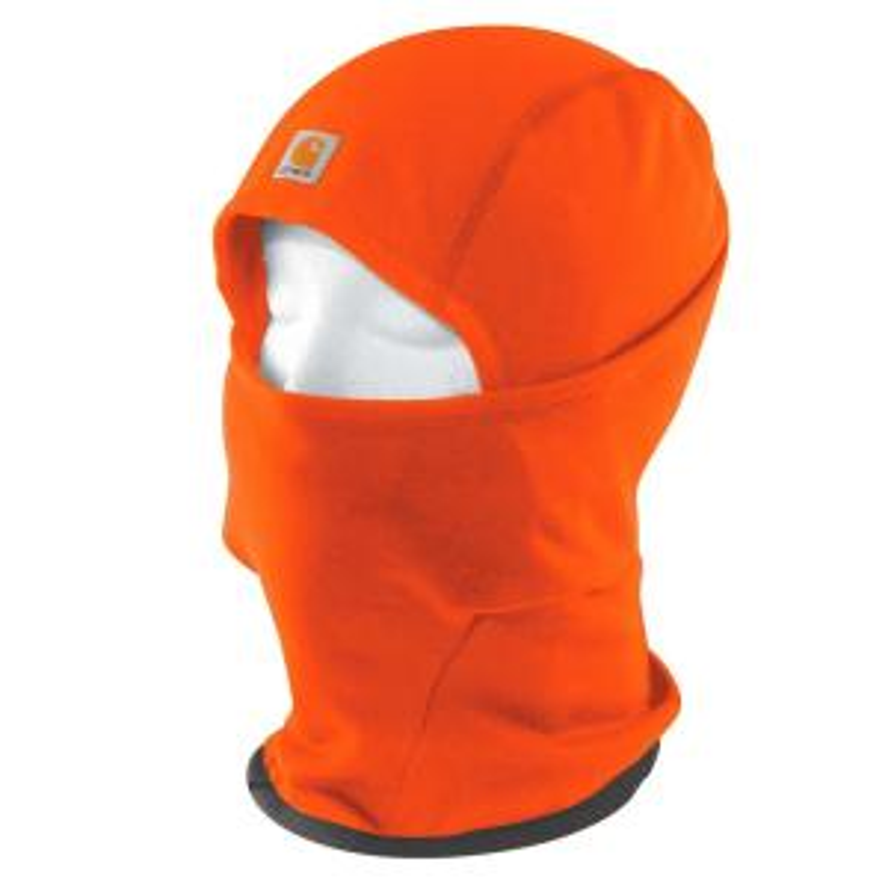 8f0162ddbea Carhartt Men s OFA Brite Orange Polyester Spandex Force Helmet Liner Mask
