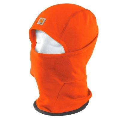 Men's OFA Brite Orange Polyester/Spandex Force Helmet Liner Mask