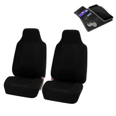 Sandwich Fabric 47 in. x 23 in. x 1 in. Half Set Front Car Seat Covers