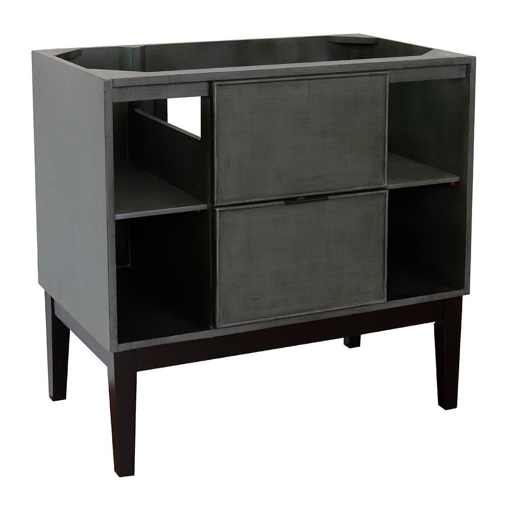 Scandi III 36 in. W x 21.5 in. D Bath Vanity Cabinet Only in Gray