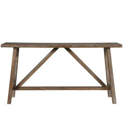 Brussels Natural Console Table