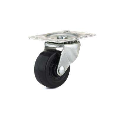 2-1/2 in. General-Duty Rubber Swivel Caster