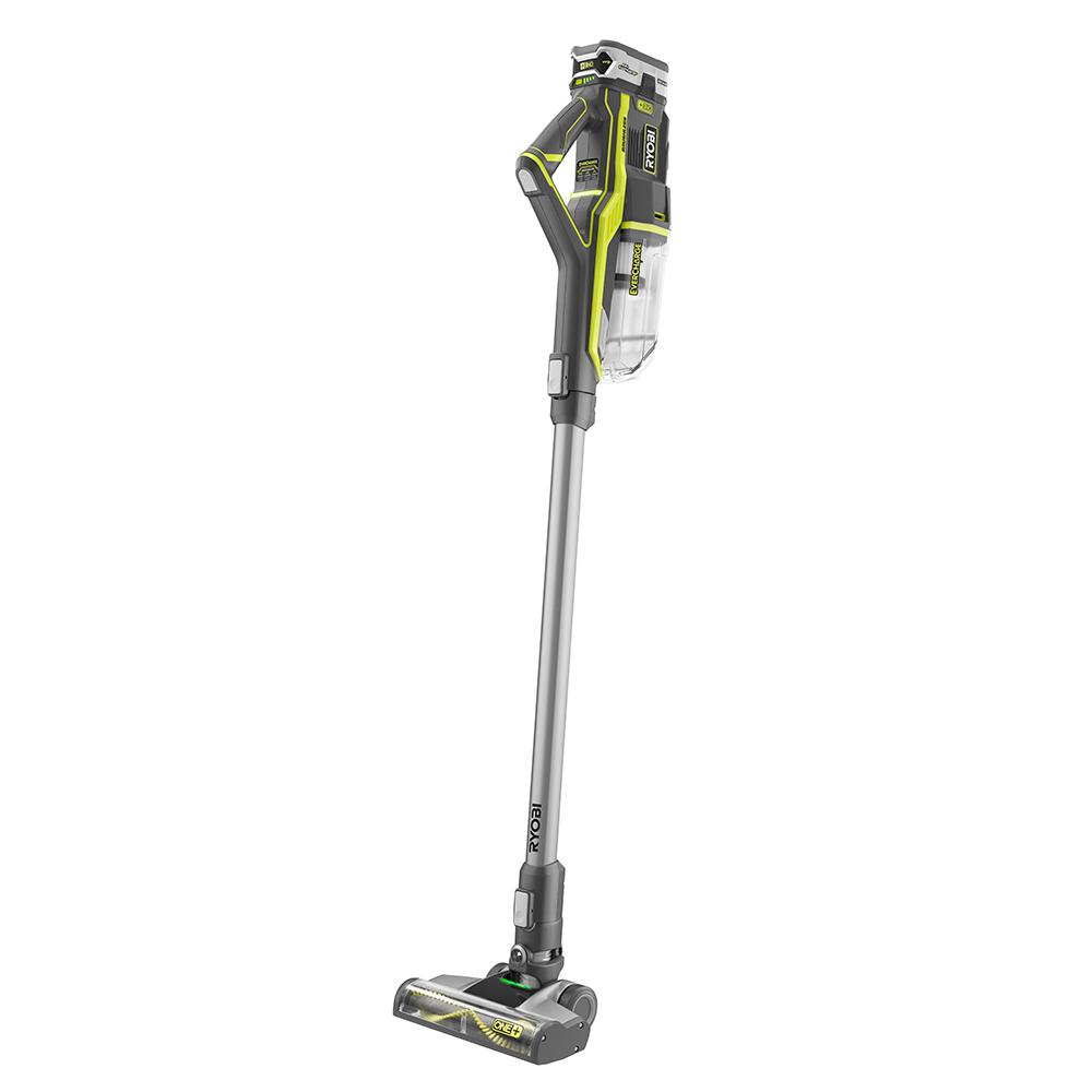 Ryobi 18 Volt One Stick Vacuum Cleaner P718k The Home Depot