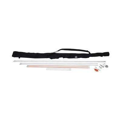 Splinter Guard 33 ft. Fish Rod and Glow Rod Kit with Bag