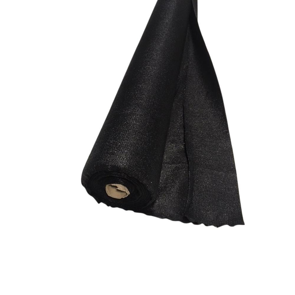 68 in. H x 1800 in. W High Density Polyethylene Black Privacy/Wind Screen Fencing