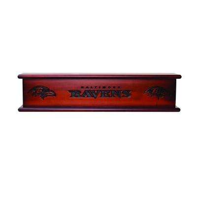 Baltimore Ravens 1.7 ft. Memorabilia Cap-Shelf Mantel