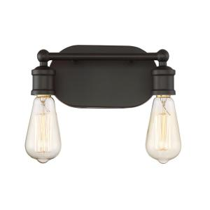 Oil Rubbed Bronze Bathroom Lighting westinghouse iron hill 3-light oil rubbed bronze wall mount bath