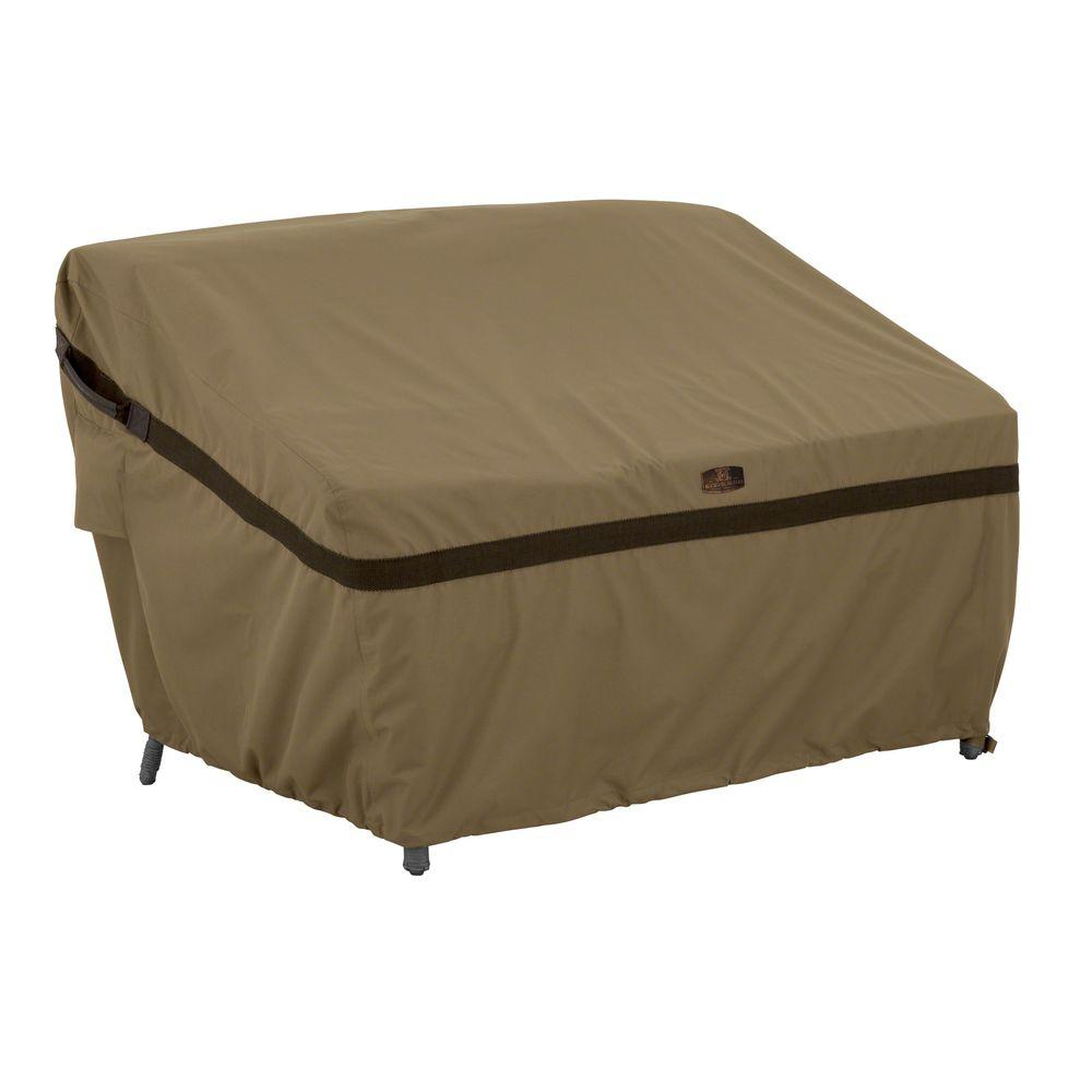 Classic Accessories Hickory Small Patio Sofa/Loveseat Cover