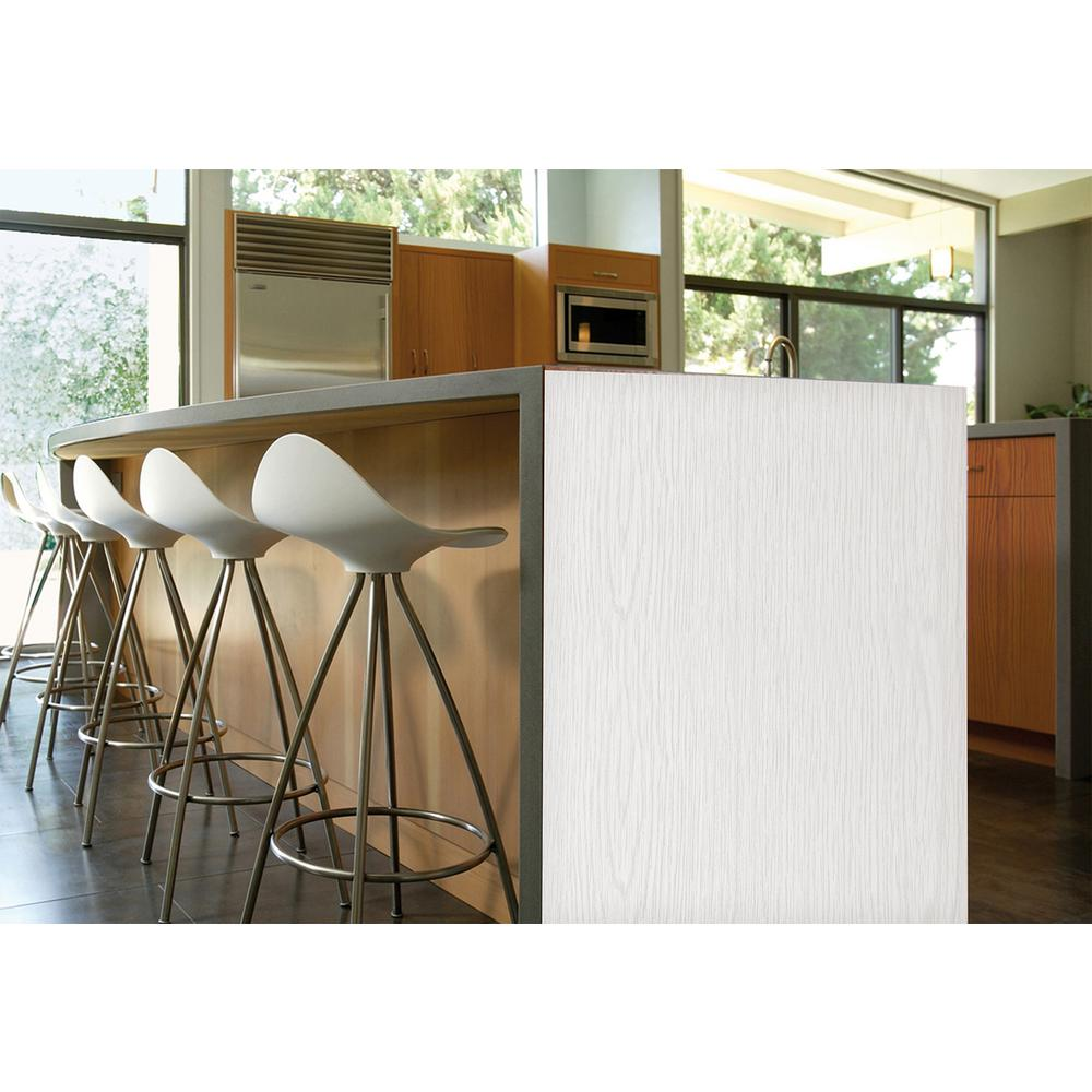 78.74 in. x 17.7 in. Whitewood Adhesive Film (Set of 2)
