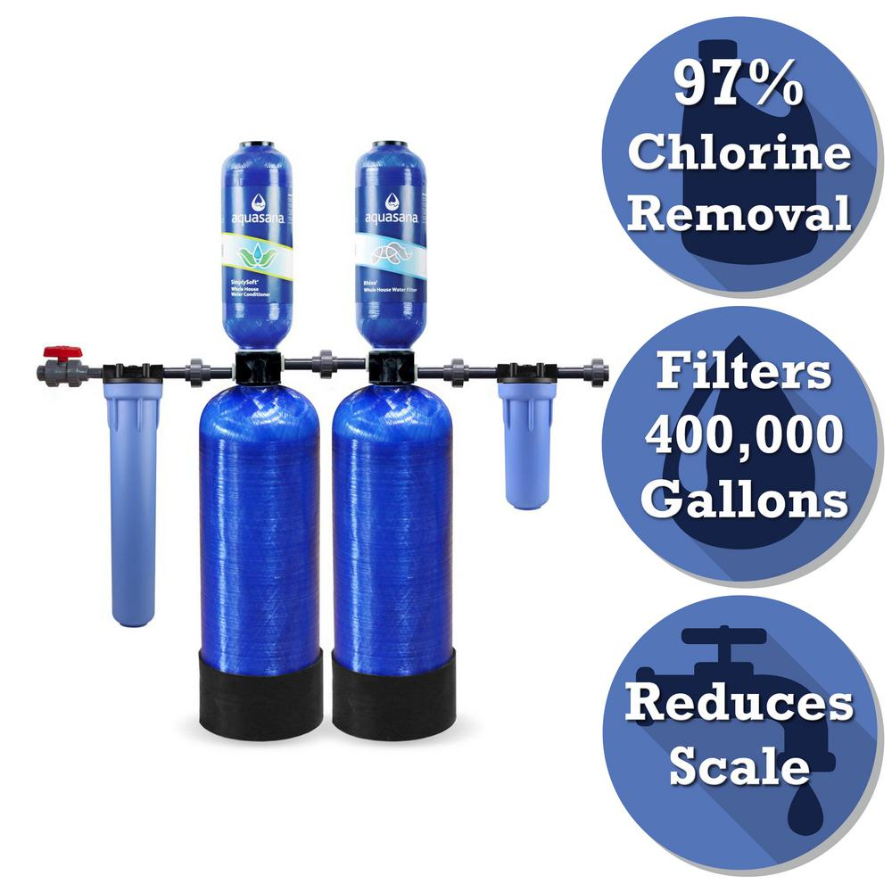 Rhino Series 6-Stage 400,000 Gal. Whole House Chloramine Water Dispenser