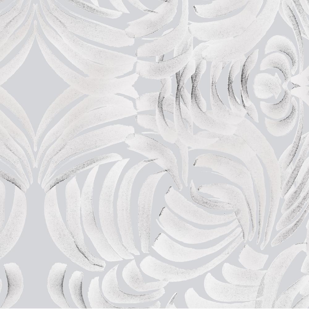 Mitchell Black ABRA Collection Porcelain Flora Large Premium Matte Wallpaper