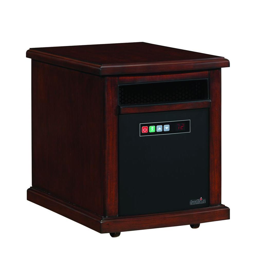 Duraflame Colby 1500-Watt Infrared Quartz Electric Portable Heater - Carmel Oak Finish