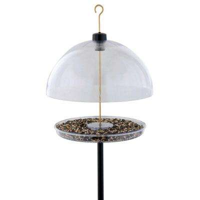 15 in. Clear Cardinal Feeder